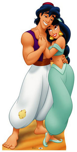 aladdin And melati