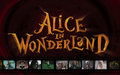 Alice in Wonderland fond d'écran - Filmstrip