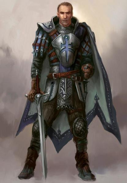 Alistair concept art - Dragon Age: Origins 415x599