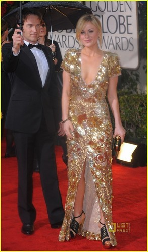 Anna and Stephen At the 2010 Golden Globes