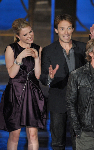 Anna and Stephen at the20 09 Spike TV Scream Awards