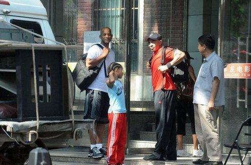 Arriving at a Beijing Film Studio (August 09)