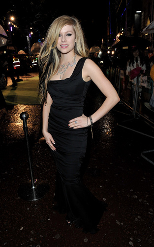 Avril Lavigne on Alice Premiere