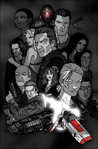 BSG Caricatures Poster