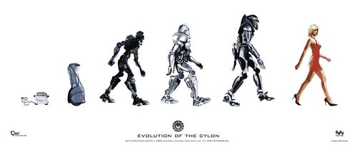 Battlestar Galactica | Evolution of the Cylon