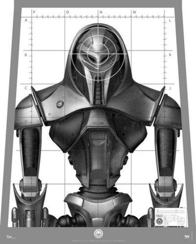 Battlestar Galactica | Target Practice Poster