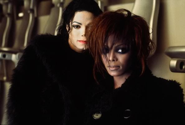Bro and Sis - michael-jackson photo