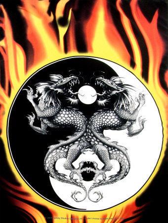 Burning Yin Yang