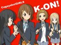 Cagayake Girls! - k-on wallpaper