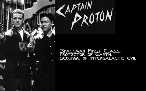 Captain Proton fond d'écran