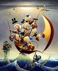 Carl Barks Oil Paintings