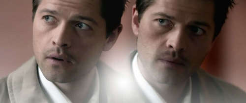 Dean and Castiel wallpaper titled Castiel&Dean*