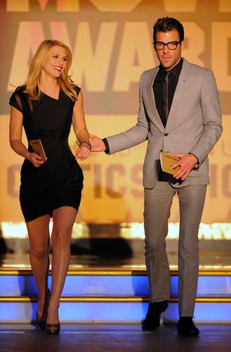 Claire @ 2010 Critics Choice Awards