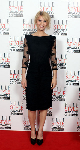 Claire @ 2010 ELLE Style Awards