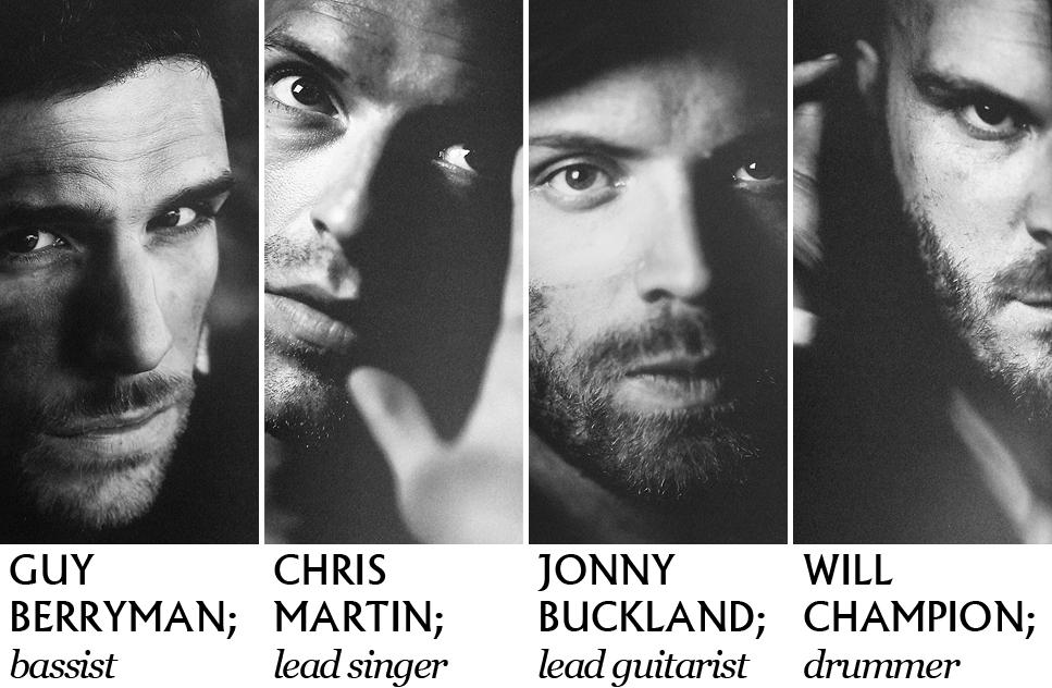 Coldplay members.