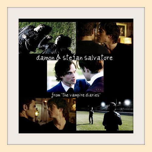 Damon/Stefan fanart