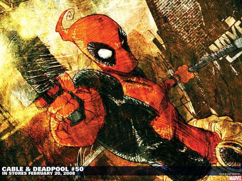 Deadpool 바탕화면