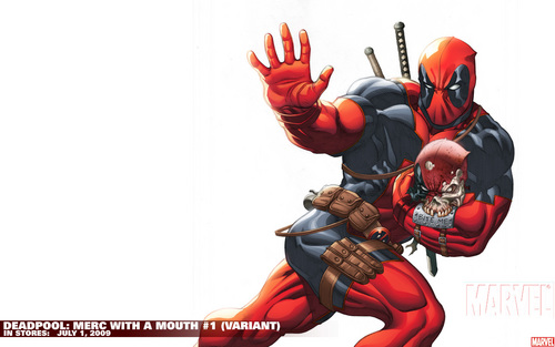 Deadpool karatasi la kupamba ukuta