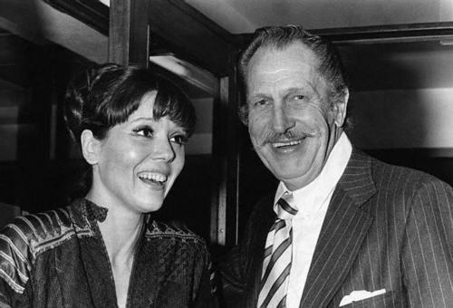 Diana with Vincent Price
