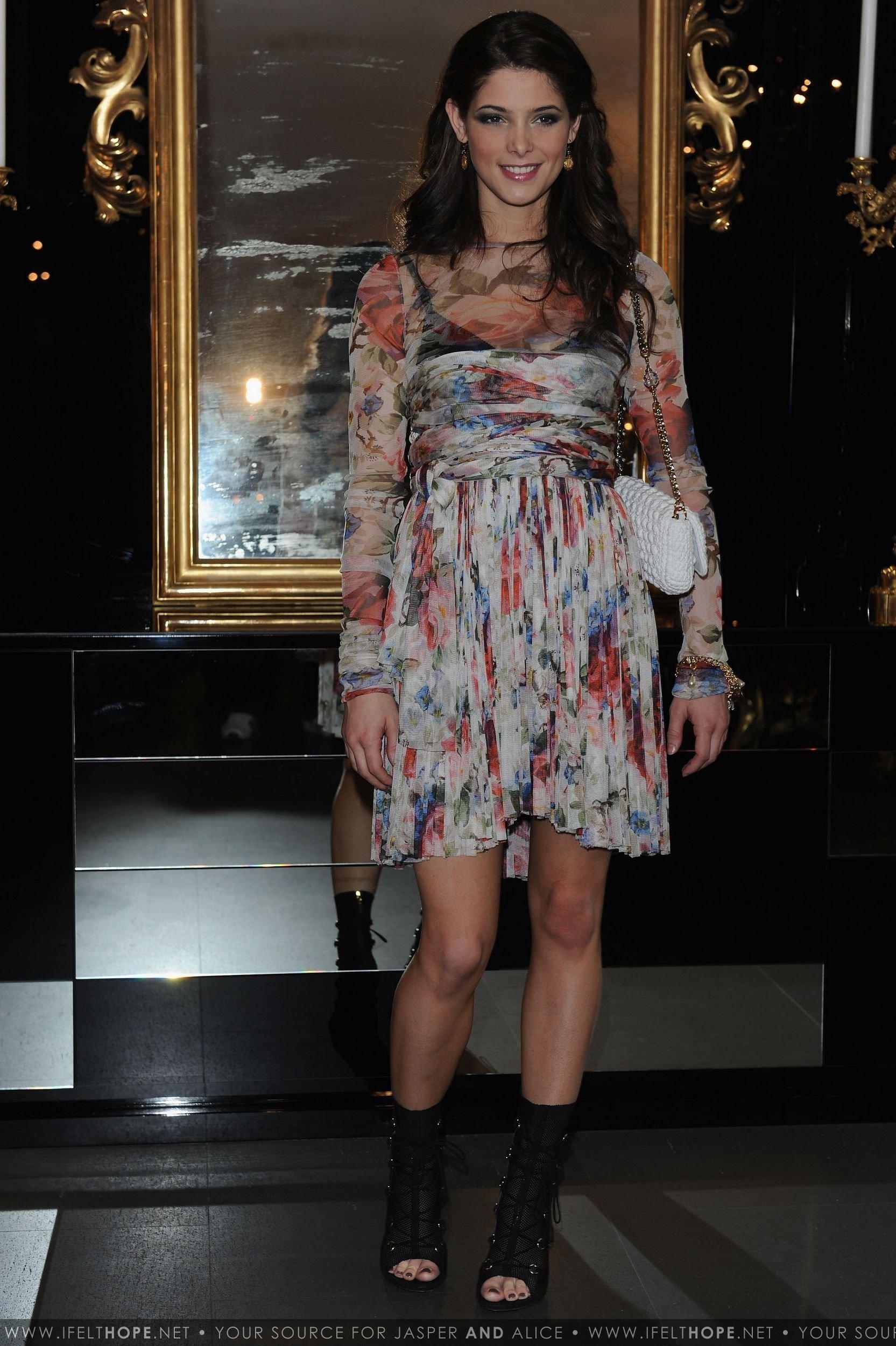 05470c960e5aa ashley greene images Dolce   Gabbana  Milan Fashion Week Womenswear -  February 28 HD wallpaper and background photos