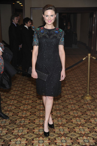 Emily Deschanel Обои called Emily @ the American Society Of Cinematographers 24th Annual Awards