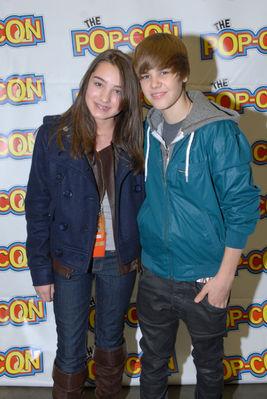 Justin Bieber Meet  Greet on 2010   February 21st   Pop Con 2010 Meet   Greet   Justin Bieber Photo