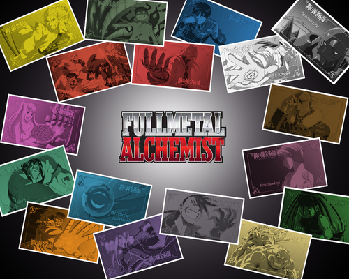 FMA Brotherhood Part 2 - full-metal-alchemist Wallpaper