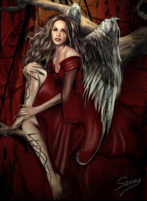 sexy fallen male angels wallpaper - photo #33
