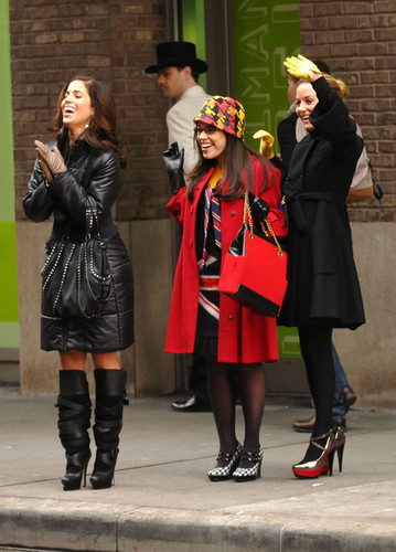 "Filming ""Ugly Betty"" In New York City"