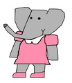 Flora - babar-the-elephant fan art