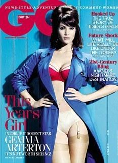 Gemma Arterton 바탕화면 titled Gemma Arterton | GQ UK (April 2010)