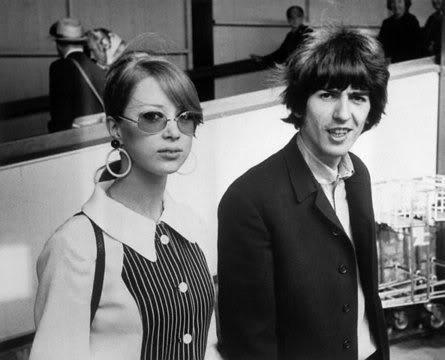 George Harrison wallpaper entitled George & Patti
