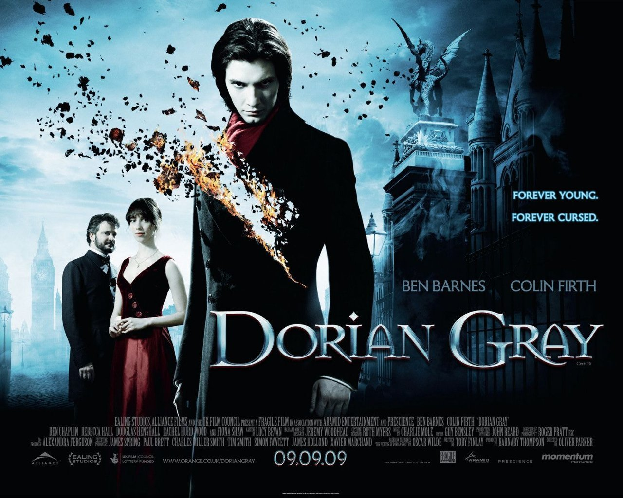 """the picture of dorian gray the Oscar wilde prefaces his novel, the picture of dorian gray, with a reflection on  art, the artist, and the utility of both after careful scrutiny, he concludes: """"all art is ."""