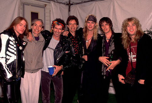 Guns N' Roses & THE ROLLING STONES