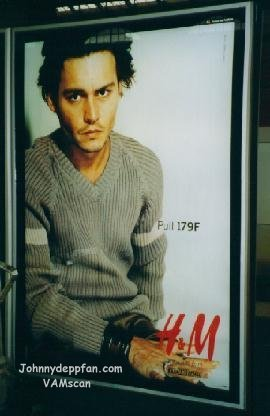 HM model - johnny-depp Photo