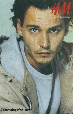 Johnny Depp wallpaper titled HM model   :p