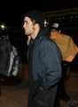 HQ Pictures: Rob and Tom are going home  - twilight-series photo
