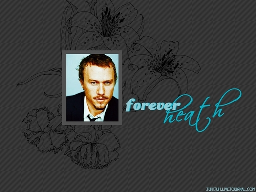 Heath 4ever - heath-ledger Wallpaper