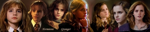 Hermione Granger through the ages