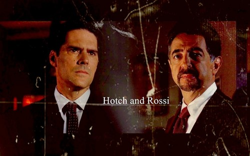SSA Aaron Hotchner 壁纸 called Hotch / Rossi