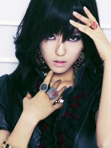 T-ARA (Tiara) Hintergrund titled Hyomin