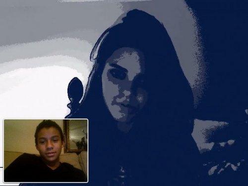 Jaafar Talking To Kendall Jenner