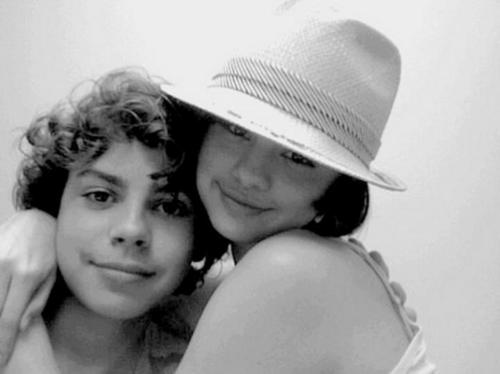 Jake T Austin & Selena Gomez together...