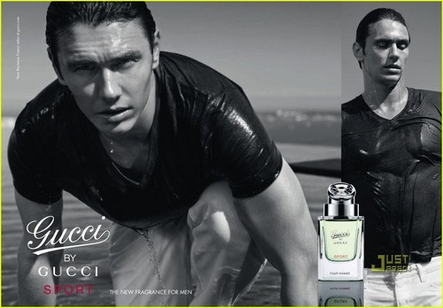 James Franco: New 'Gucci によって Gucci Sport' Ad!