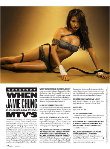 Jamie in Maxim