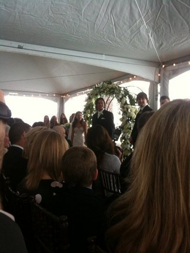 Jared and Genevieve's Wedding Pic!