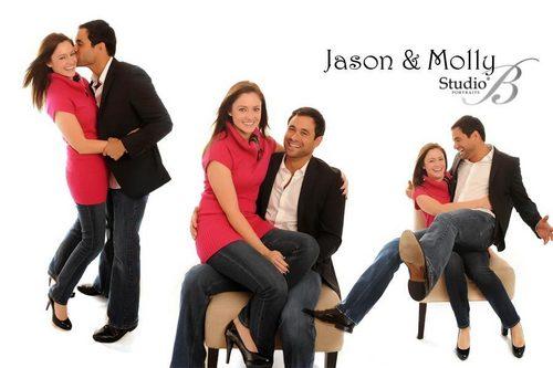 Jason and Molly वॉलपेपर