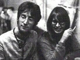 John Lennon پیپر وال entitled John & Cynthia