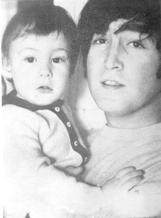 John Lennon wallpaper called John & Julian