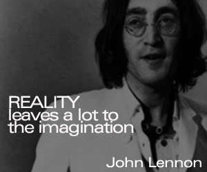 John Lennon fond d'écran entitled John Lennon citations